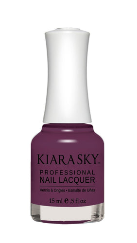ESMALTE PARA UÑAS - Kiara Sky México - ESMALTE EN NAIL LACQUER - N445 GRAPE YOUR ATTENTION DE KIARA SKY - uñas 2019 -