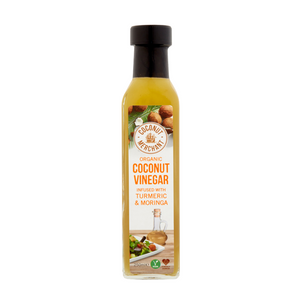 Organic Coconut Vinegar with Turmeric & Moringa 250ml