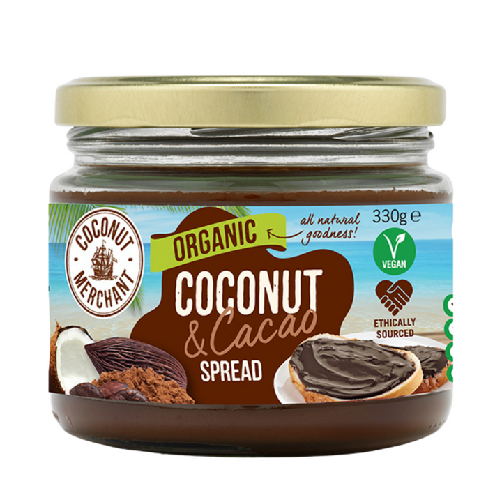 Organic Coconut Jam with Cacao
