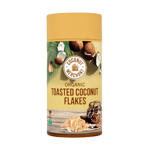 Organic Toasted Coconut Flakes 100g