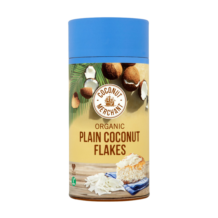 Organic Plain Coconut Flakes 100g