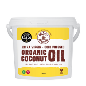 Raw Organic Extra Virgin Coconut Oil 20L