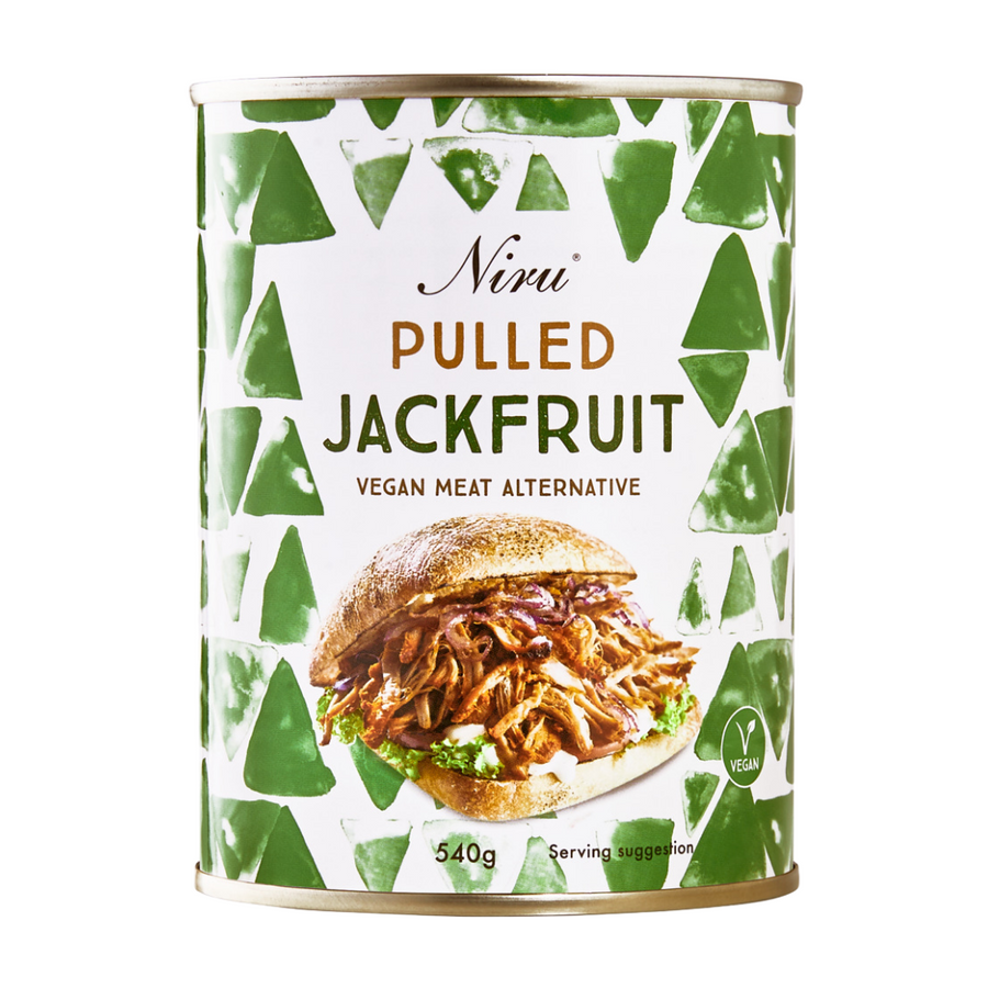 Niru Pulled Jackfruit 540g | Vegan Meat Alternative