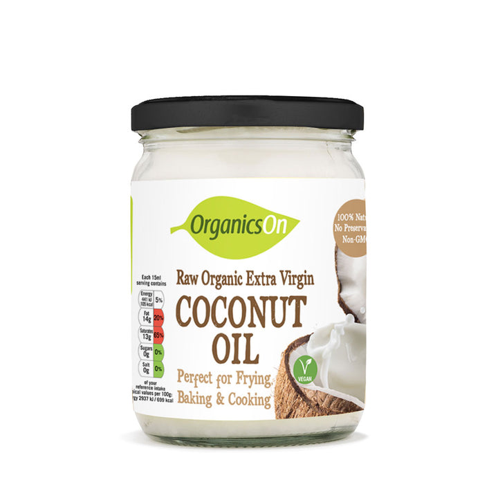 Organicson Raw Organic Extra Virgin Coconut Oil 500ml