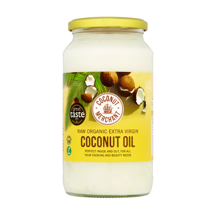 Raw Organic Extra Virgin Coconut Oil 1L
