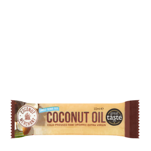 Raw Organic Extra Virgin Coconut Oil 10ml Sachet or Keto Stick