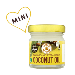 Raw Organic Extra Virgin Coconut Oil 35ml