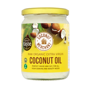 Raw Organic Extra Virgin Coconut Oil 500ml