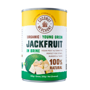 Organic Young Green Jackfruit 400g