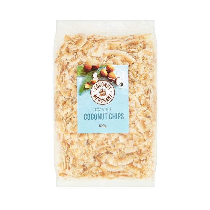 Organic Toasted Coconut Chips 500g