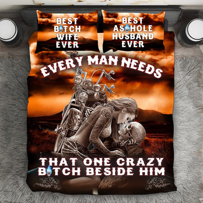 """Every Man Needs That One"" Bedding Set"