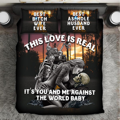 """This Love Is Real"" Bedding Set"