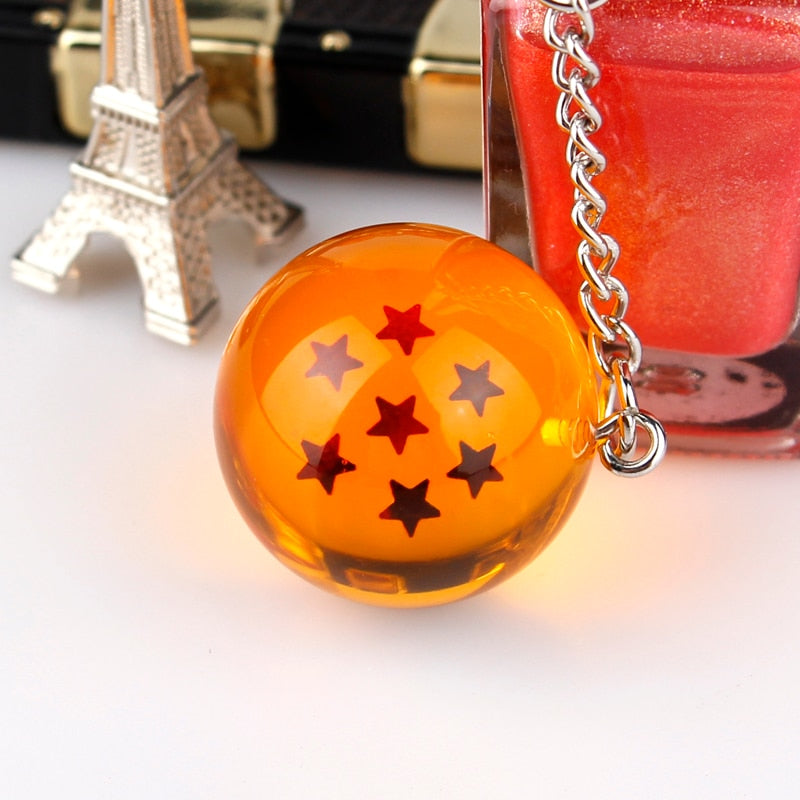 Anime Dragon Ball Z 7 Star Keychain - Animeze