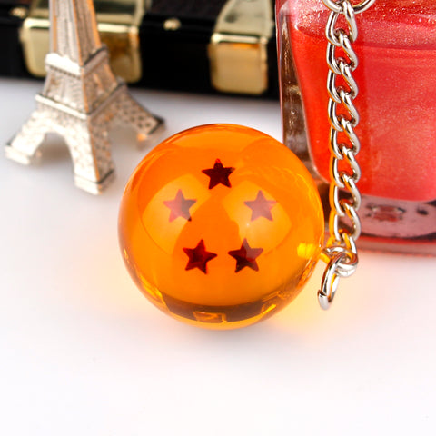 Image of Anime Dragon Ball Z 7 Star Keychain - Animeze