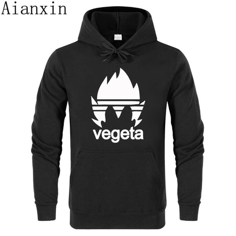 Dragon Ball Z Hoodies Vegeta Print Hoodie - Animeze