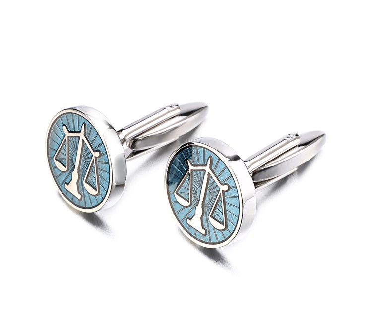 Cufflinks zodiac sign Libra