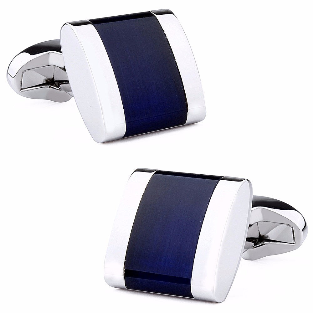 Cufflinks classical in 4 colors