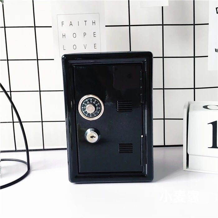 BLACK MINI DESKTOP SAFE