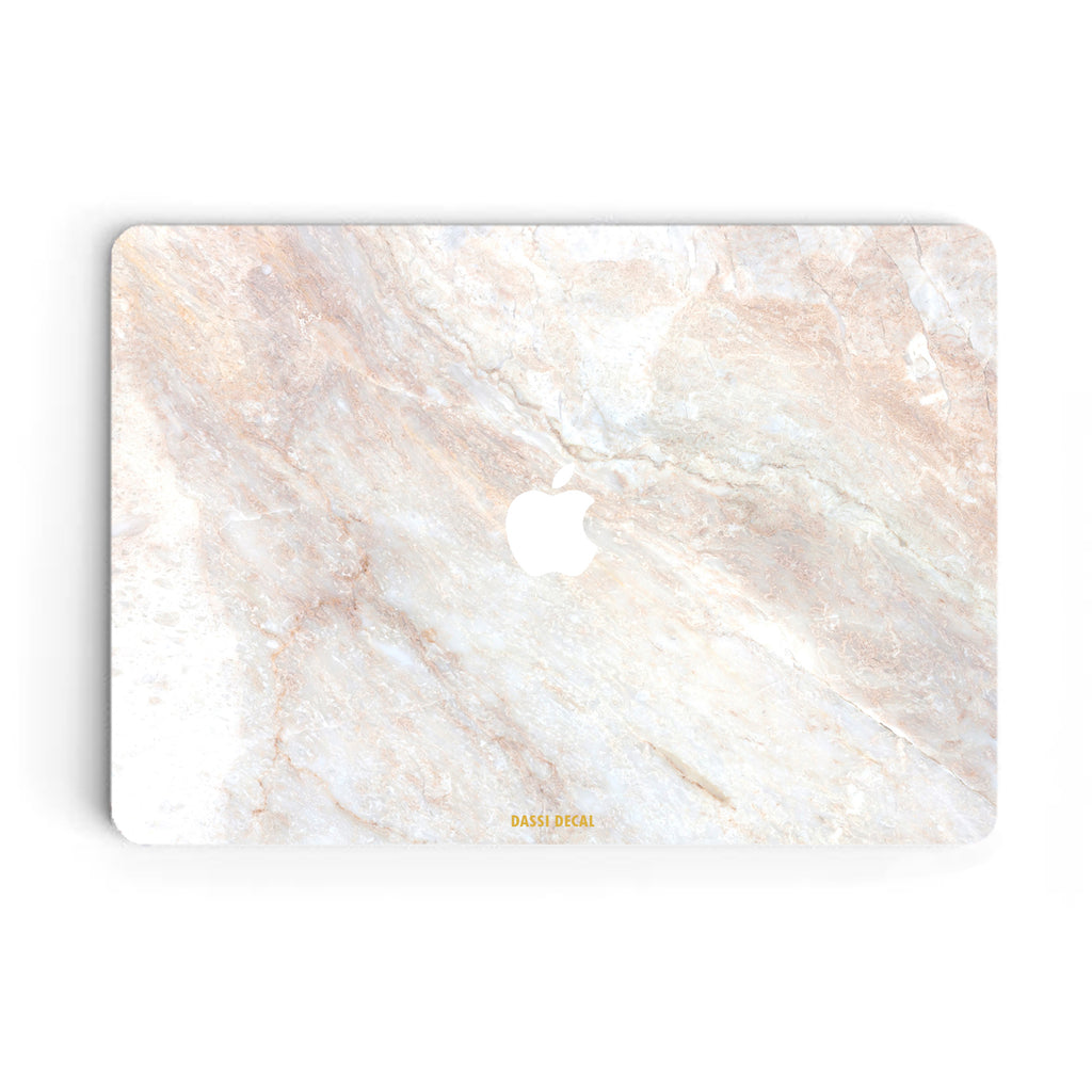 BEIGE MARBLE MACBOOK SKIN