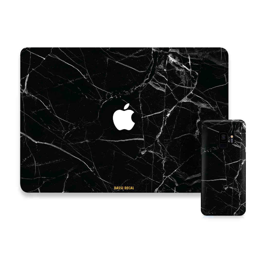 BLACK MARBLE SAMSUNG BUNDLE SET