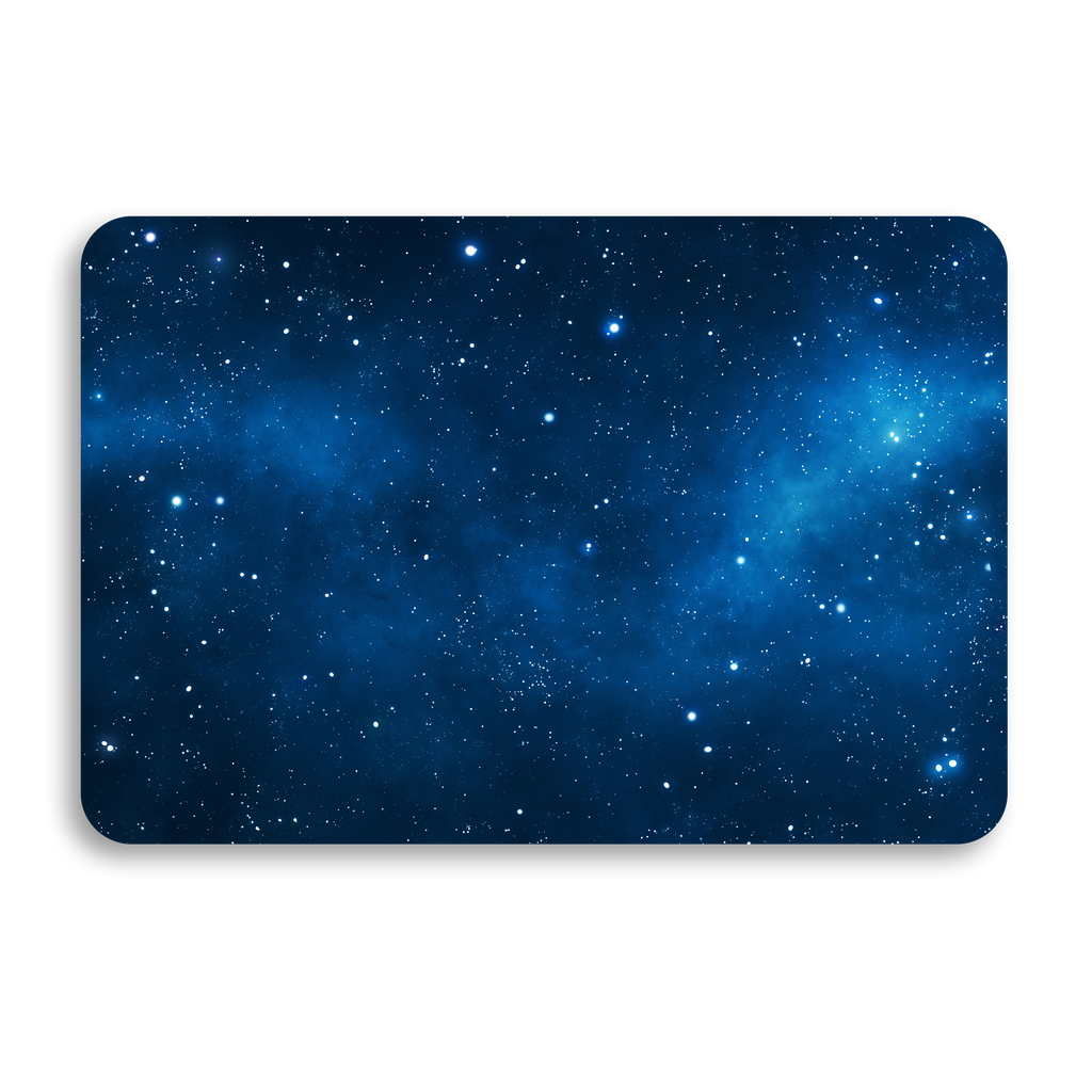 BLUE GALAXY UNIVERSAL LAPTOP SKIN
