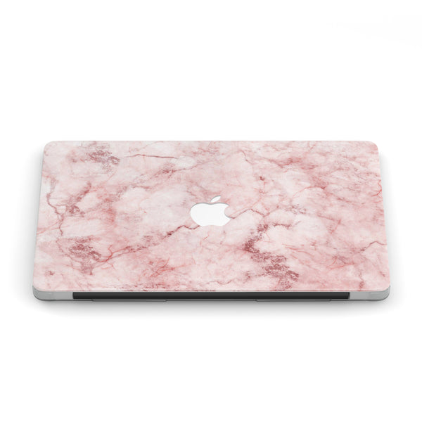 SAKURA PINK MARBLE MACBOOK CASE