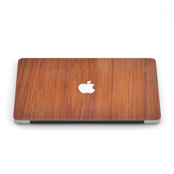 TEAK WOOD MACBOOK CASE