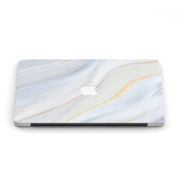 WAVES OF BLUE MACBOOK CASE