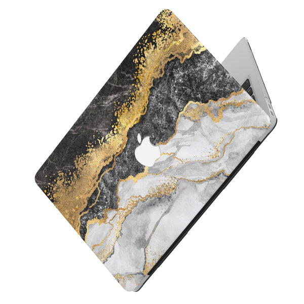 THE GOLDEN DIVIDE MARBLE MACBOOK CASE