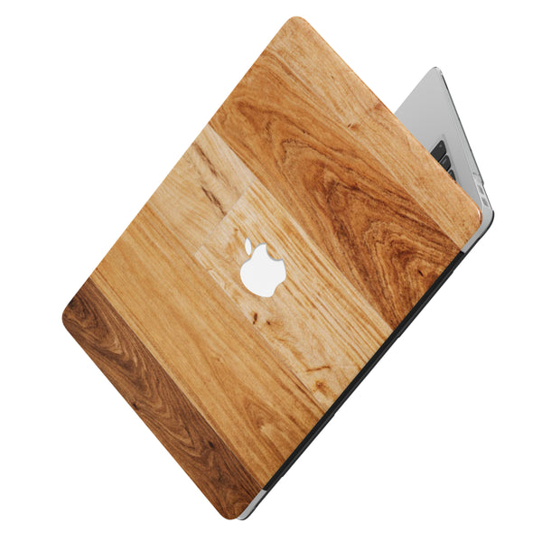 A PLAY WITH WOOD MACBOOK CASE