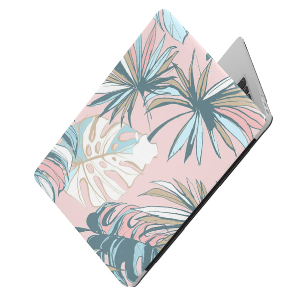 PINK TROPICAL MACBOOK CASE