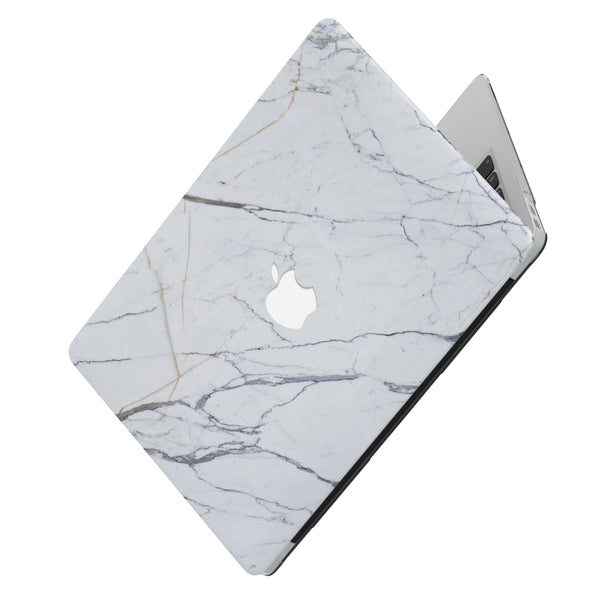MADE FROM WHITE MARBLE MACBOOK CASE