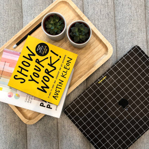 BLACK GRID MACBOOK SKIN