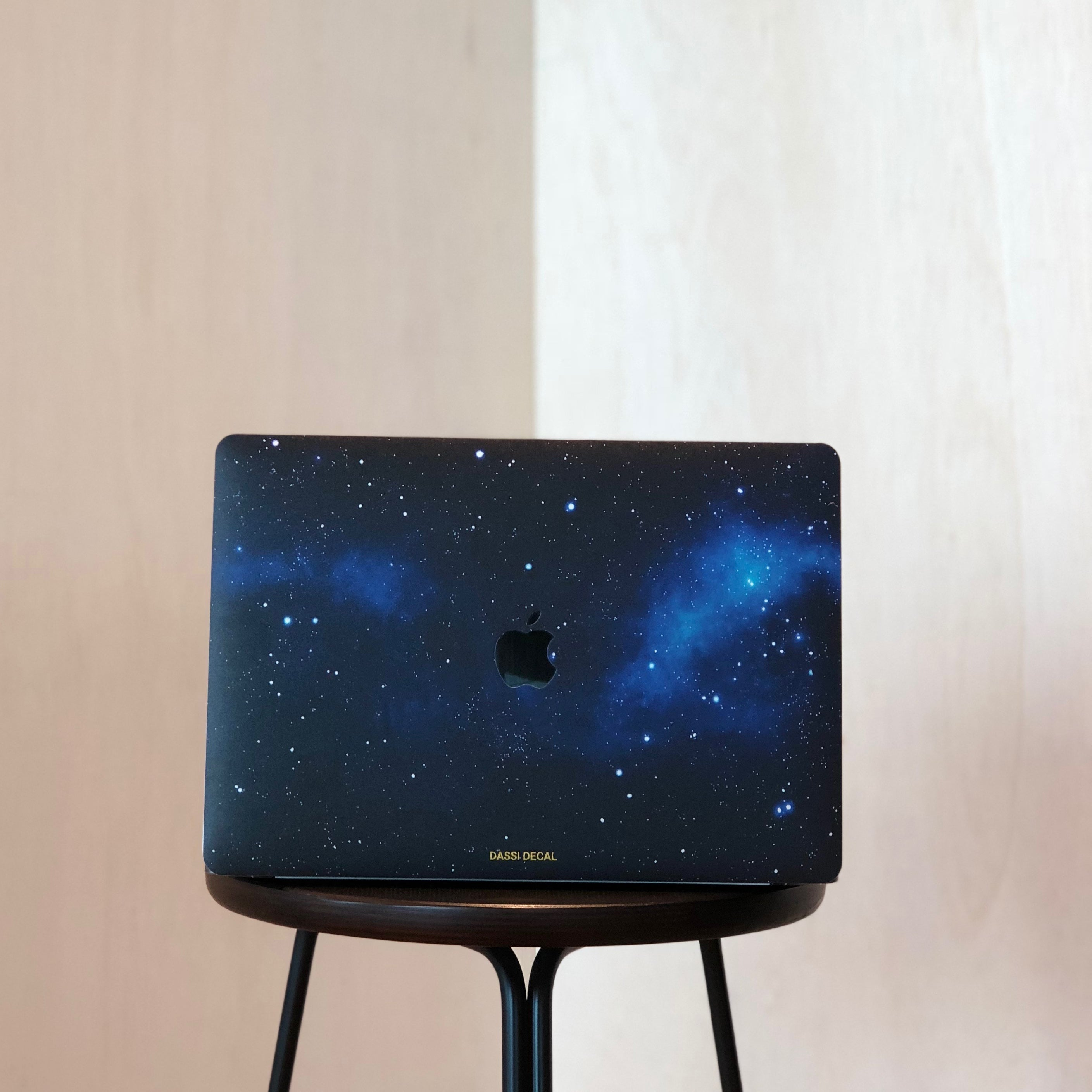 BLUE GALAXY MACBOOK SKIN