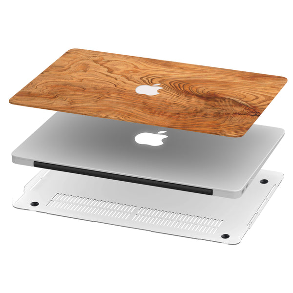 ELM WOOD MACBOOK CASE