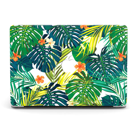 GREEN TROPICAL MACBOOK CASE