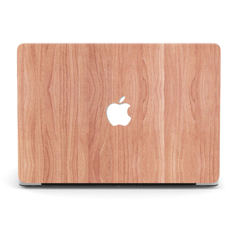 RED OAK WOOD MACBOOK CASE