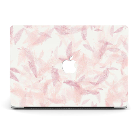 AUTUMN CHERRY LEAVES MACBOOK CASE