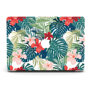 RED TROPICAL MACBOOK CASE