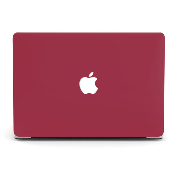 WINE RED MACBOOK CASE