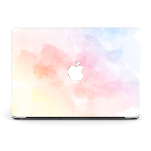 LIGHT MULTI WATERCOLOR MACBOOK CASE