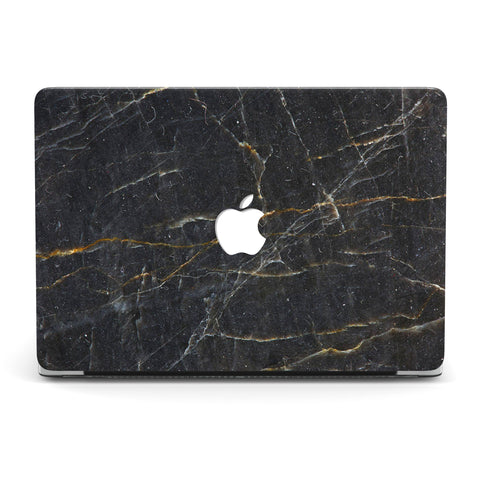 MADE FROM BLACK MARBLE MACBOOK CASE