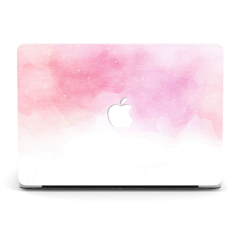 PINK WATERCOLOR MACBOOK CASE