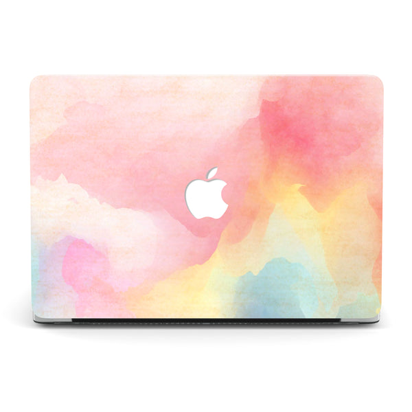 RAINBOW WATERCOLOR MACBOOK CASE
