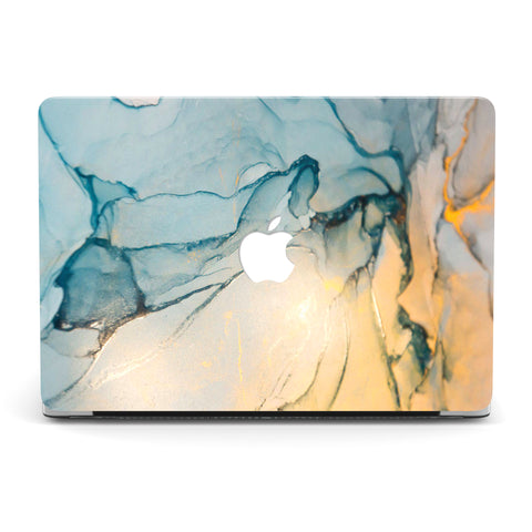 SAPPHIRE GOLD BEACH MACBOOK CASE