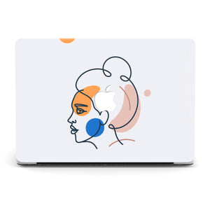 WOMAN OF MY DREAMS MACBOOK CASE