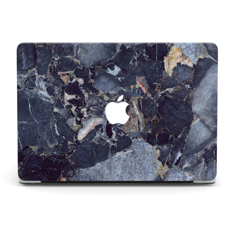 BOLIVIA BLUE QUARTZITE MARBLE MACBOOK CASE