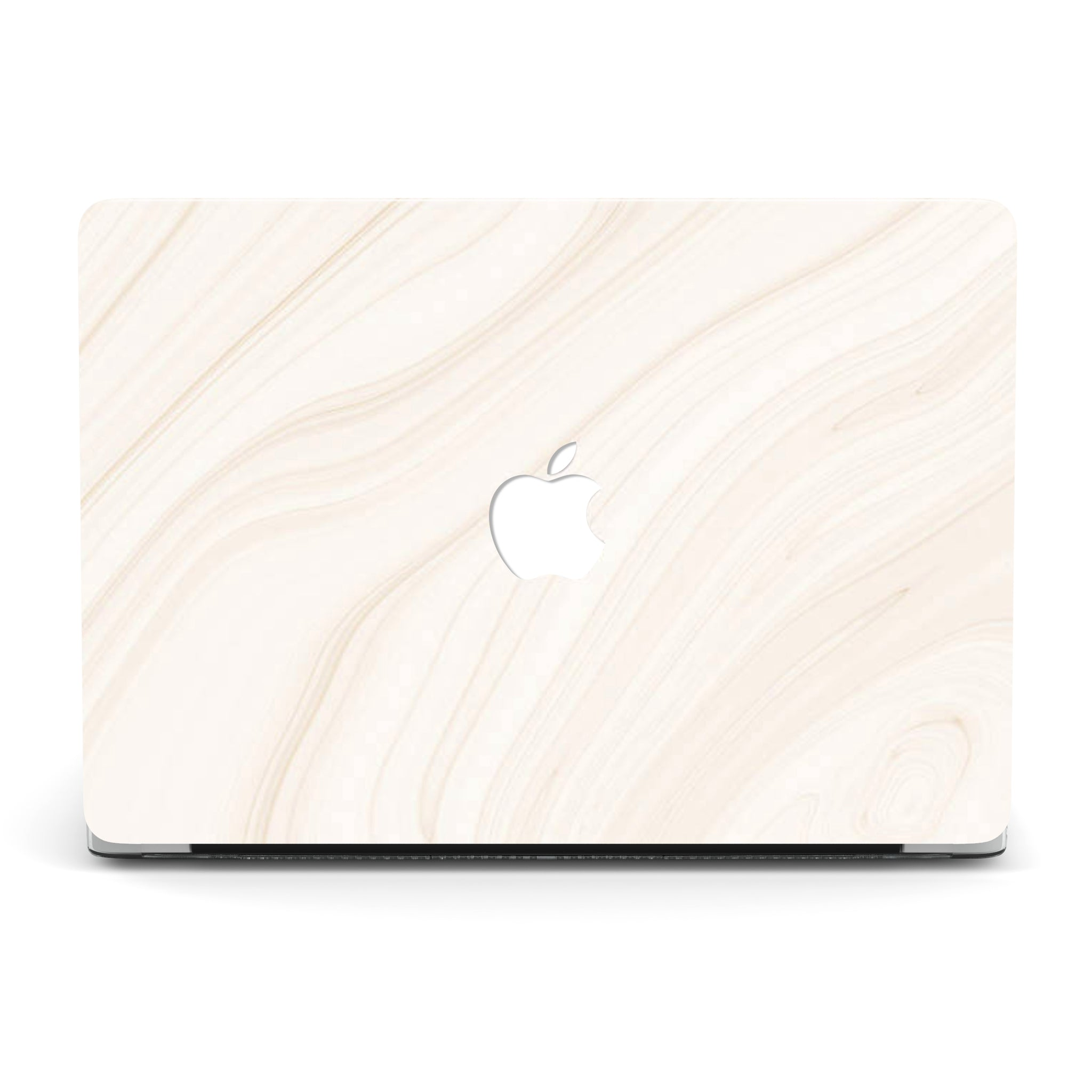 WAVES OF BEIGE MACBOOK CASE
