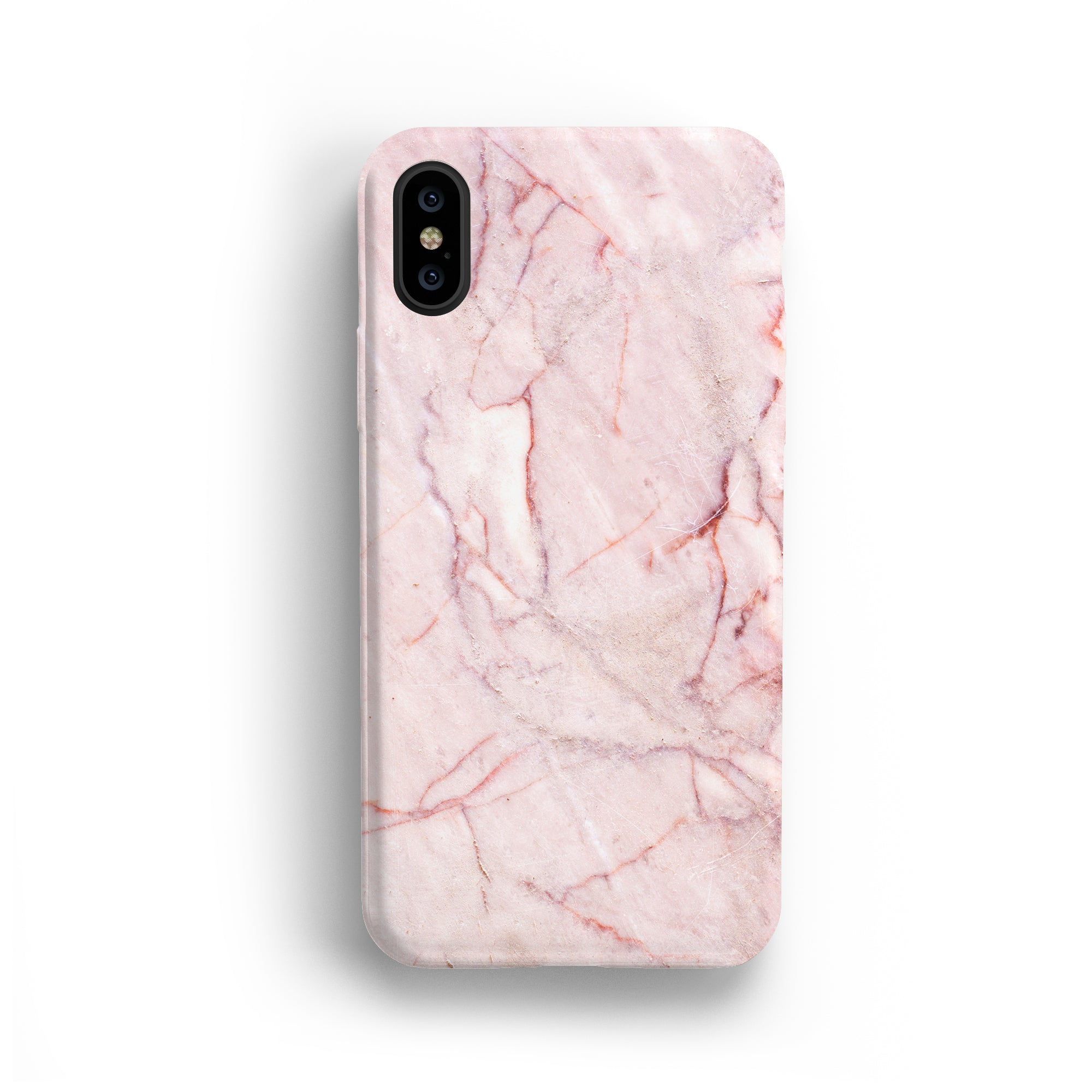 PINK MARBLE IPHONE CASE + SCREEN PROTECTOR