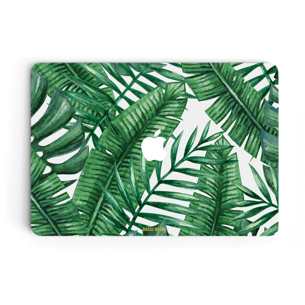 TROPICAL LEAVES MACBOOK SKIN